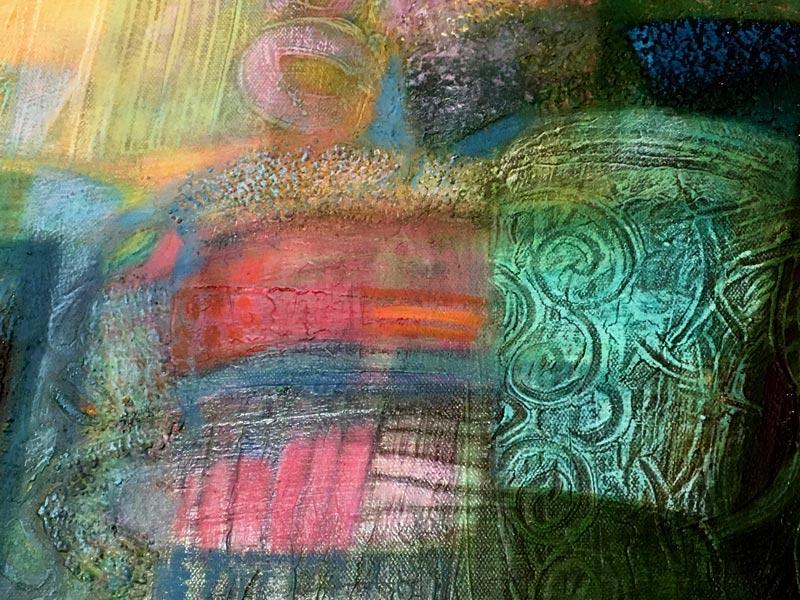 A fény színes terében 50x70 részlet