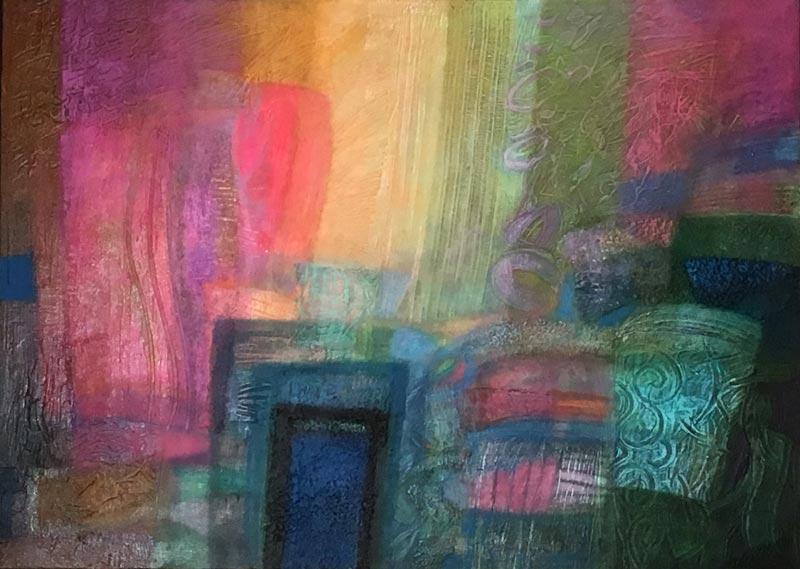 A fény színes terében 50x70