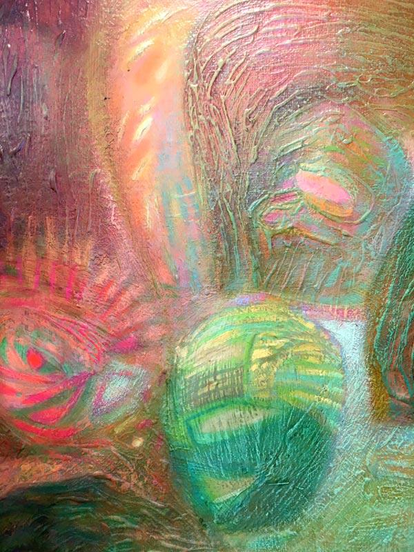 A színek emléke 50x150 részlet